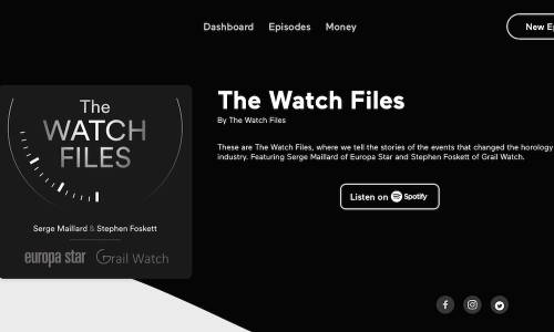 The Watch Files #1 - Gérald Genta