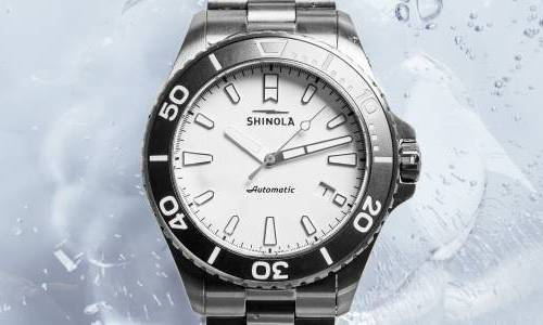 Shinola's Ice Monster Titanium Automatic