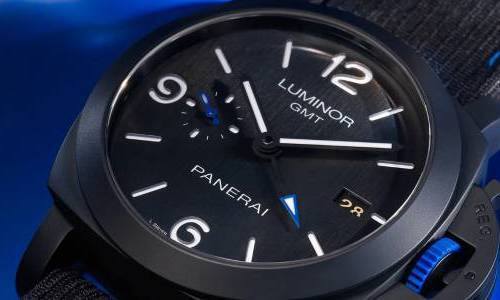 Panerai Luminor GMT Bucherer BLUE edición especial