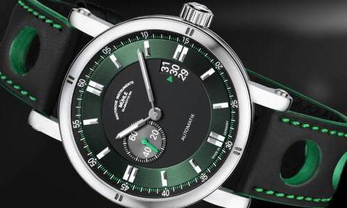 Mühle-Glashütte Teutonia Sport II in Racing Green