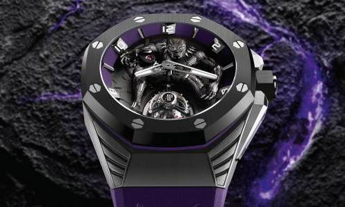 "Desvelando el Audemars Piguet's Limited ""Black Panther"" Edition"