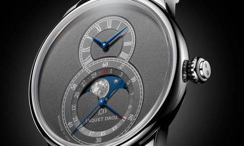 El Jaquet Droz Grande Seconde Moon recibe una nueva Anthracite Edition