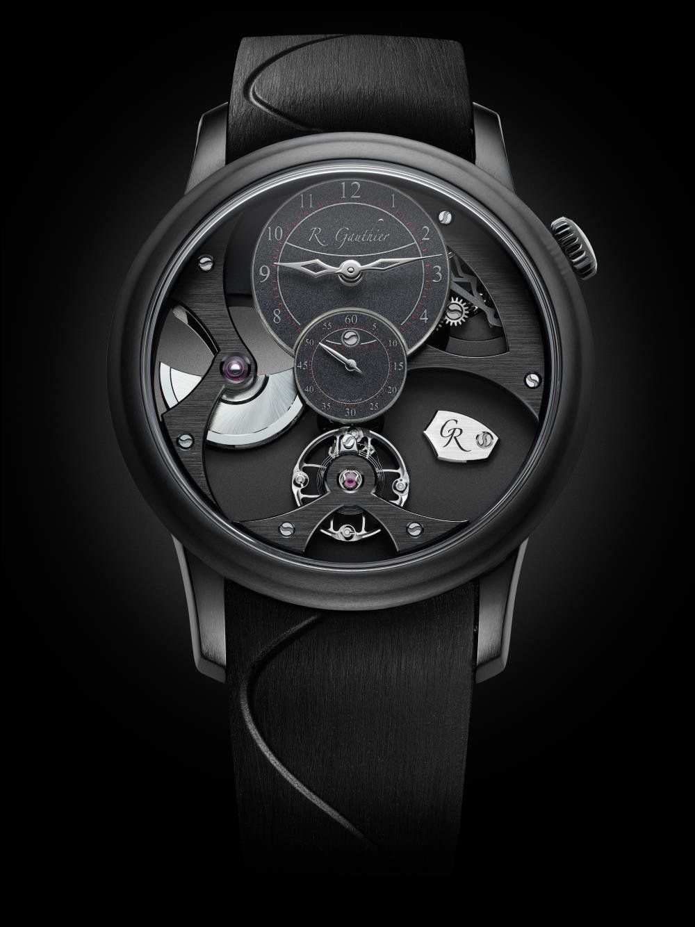 INSIGHT MICRO-ROTOR BLACK TITANIUM de Romain Gauthier