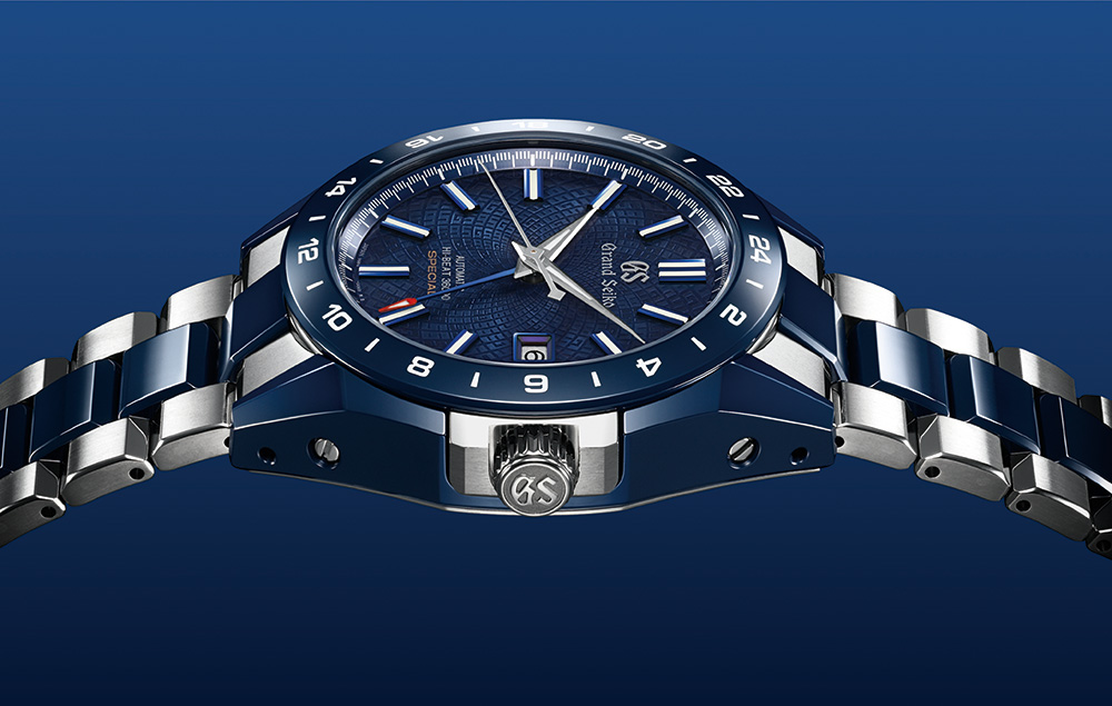 BLUE CERAMIC GRAND SEIKO HI-BEAT GMT
