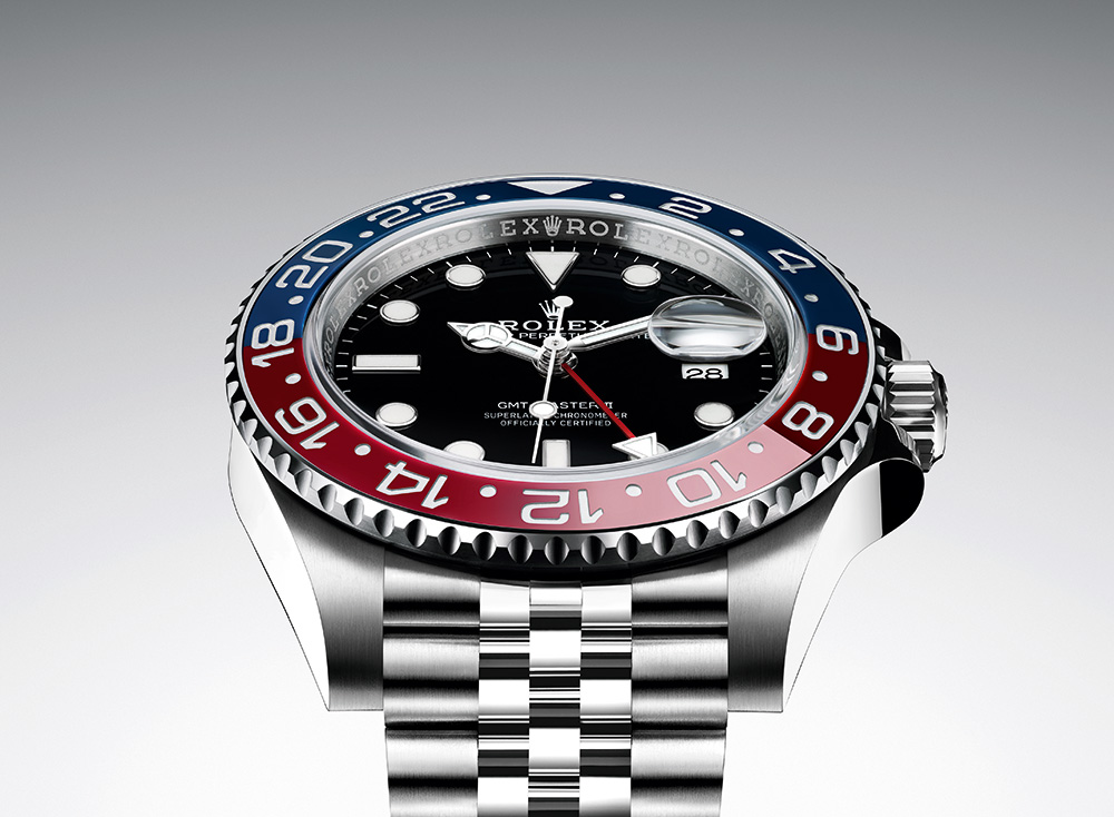 ROLEX GMT-MASTER II WITH TWO-TONE BEZEL