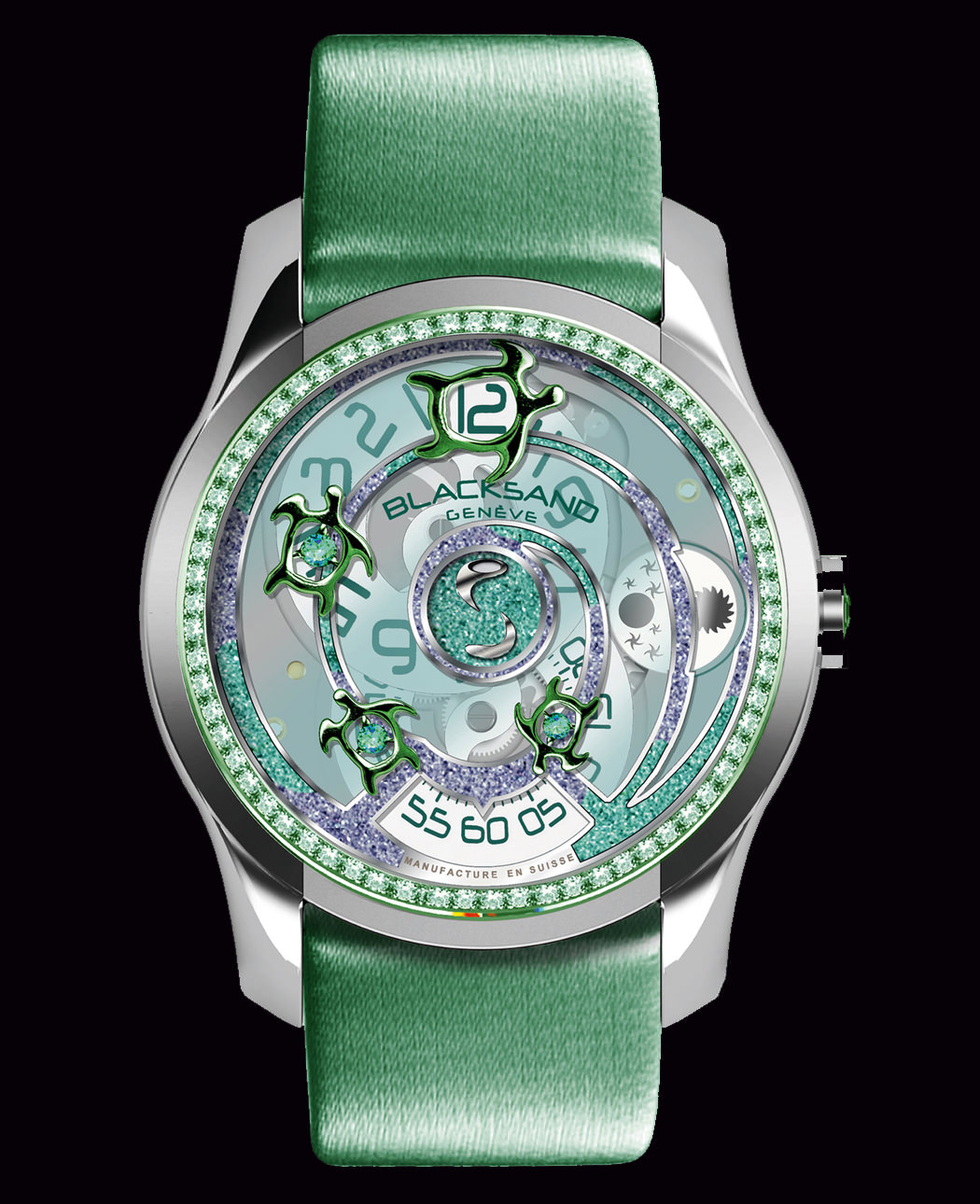 CONTINUITY EMERALD SEA TURTLE de Blacksand