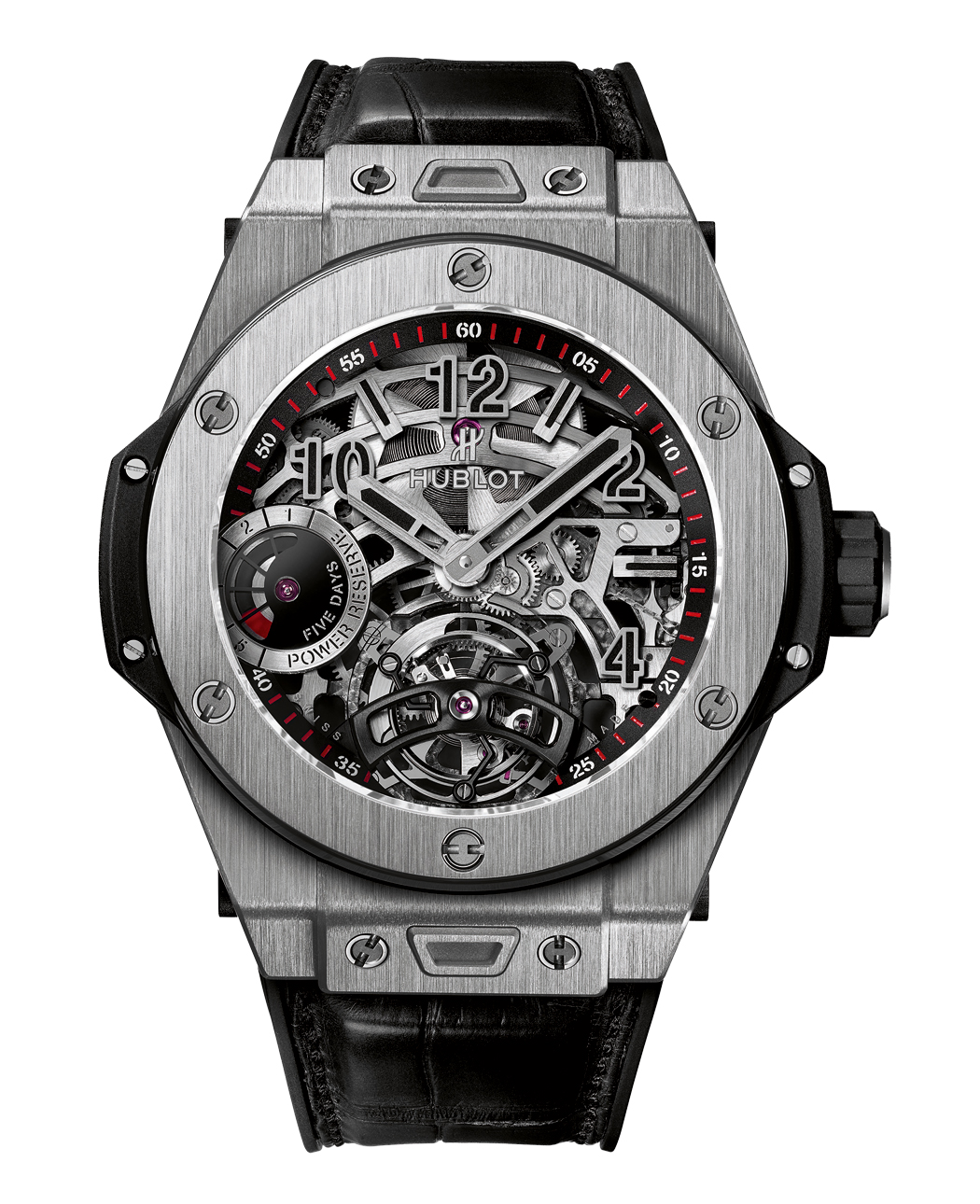 BIG BANG TOURBILLON POWER RESERVE 5-DAYS INDICATOR de Hublot