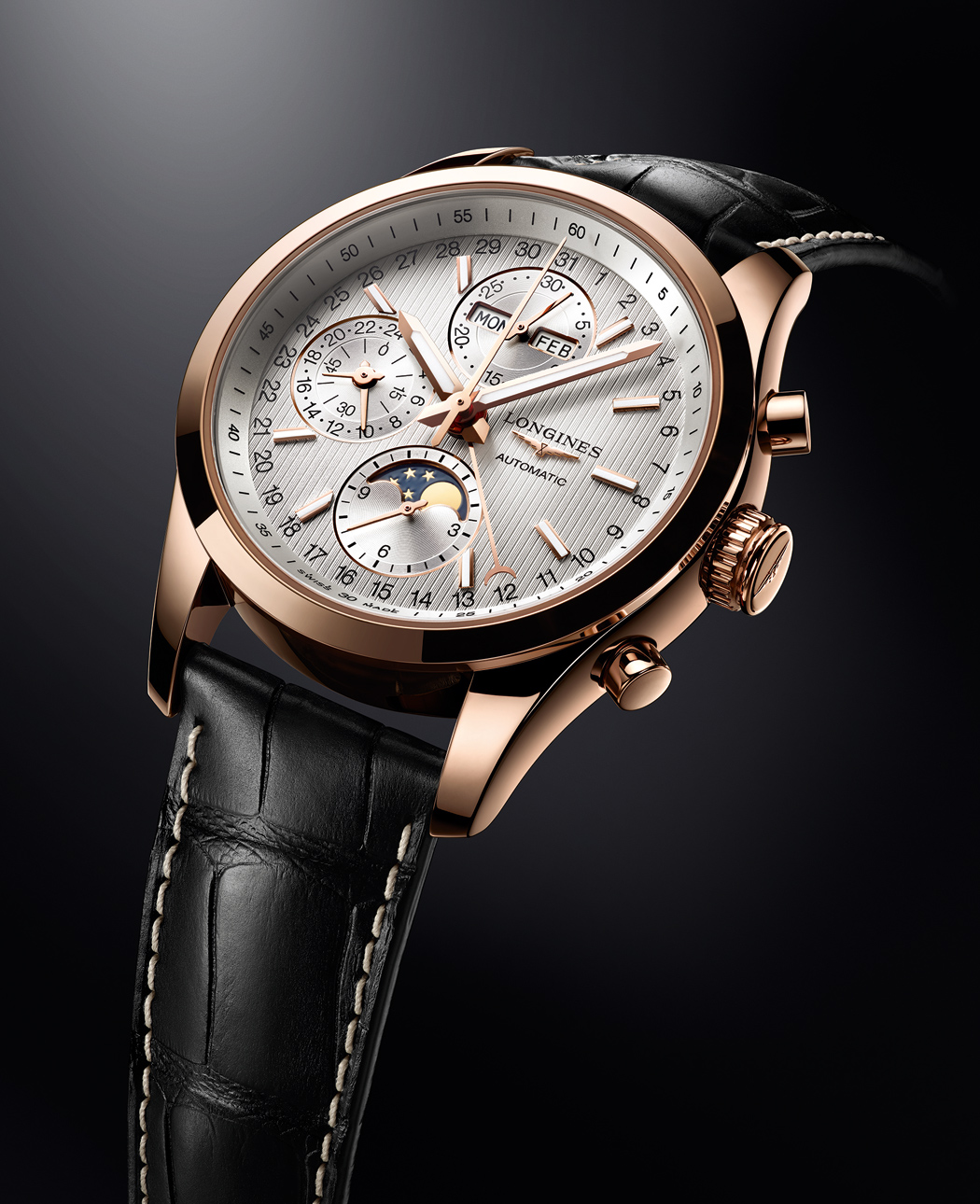 LONGINES CONQUEST CLASSIC MOONPHASE de Longines