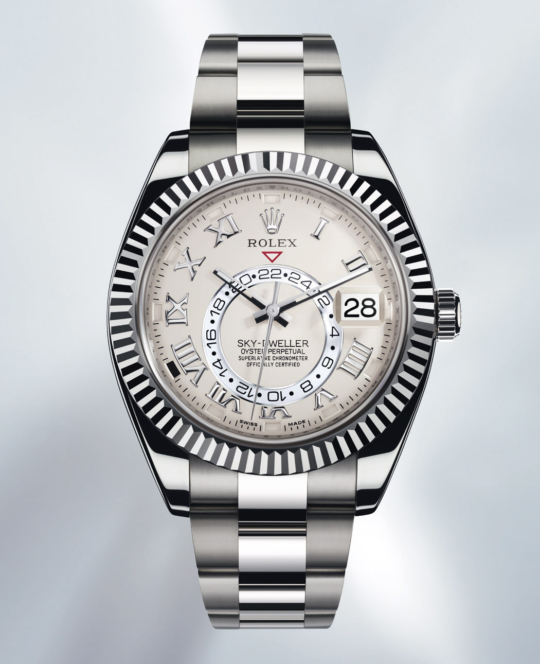 OYSTER PERPETUAL SKY-DWELLER WHITE GOLD de Rolex