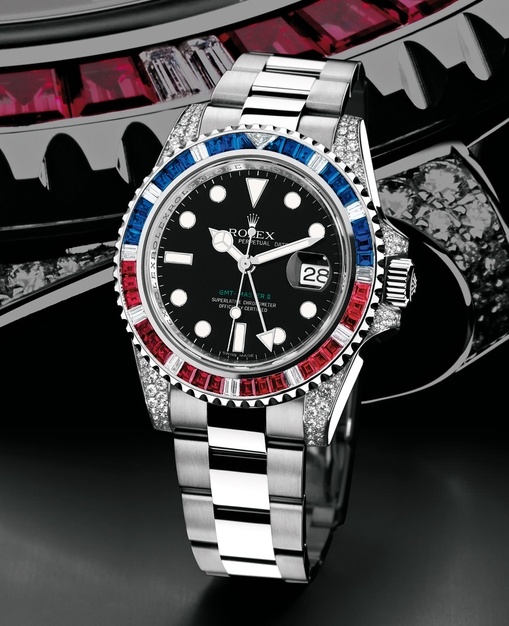 OYSTER PERPETUAL GMT-MASTER II by Rolex
