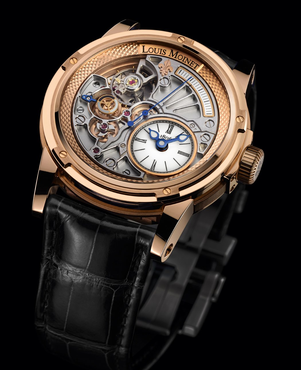 20-SECOND TEMPOGRAPH de Louis Moinet