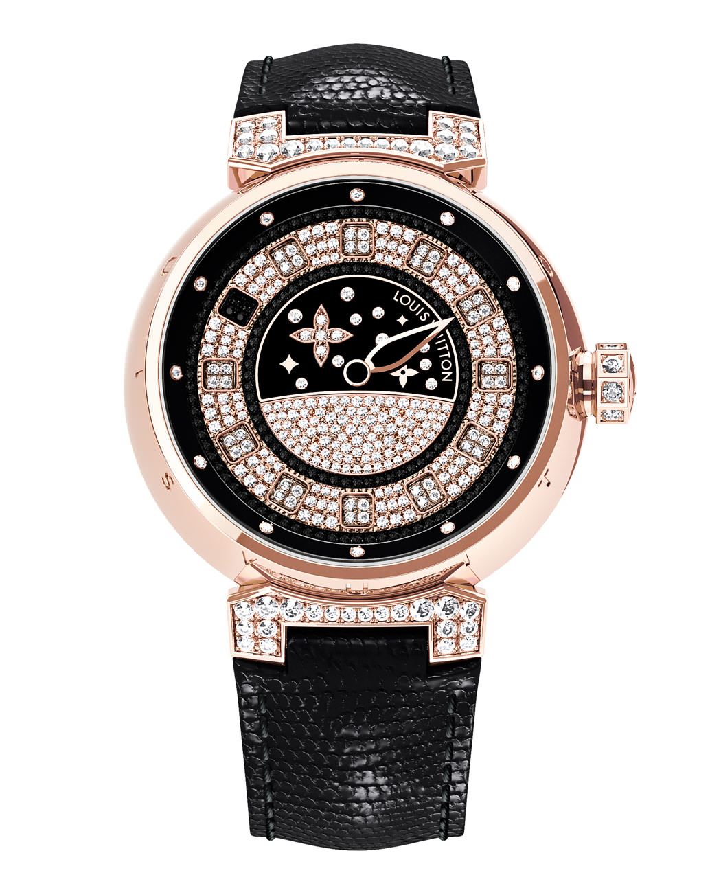 TAMBOUR SPIN TIME JOAILLERIE ROSE GOLD de Louis Vuitton