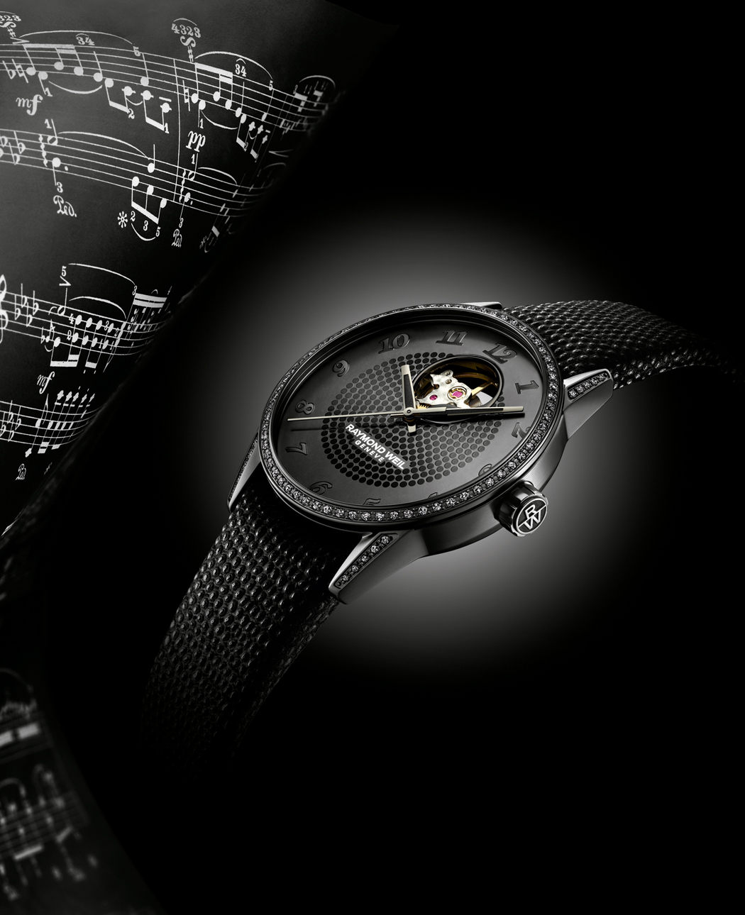 FREELANCER LADY URBAN BLACK de Raymond Weil