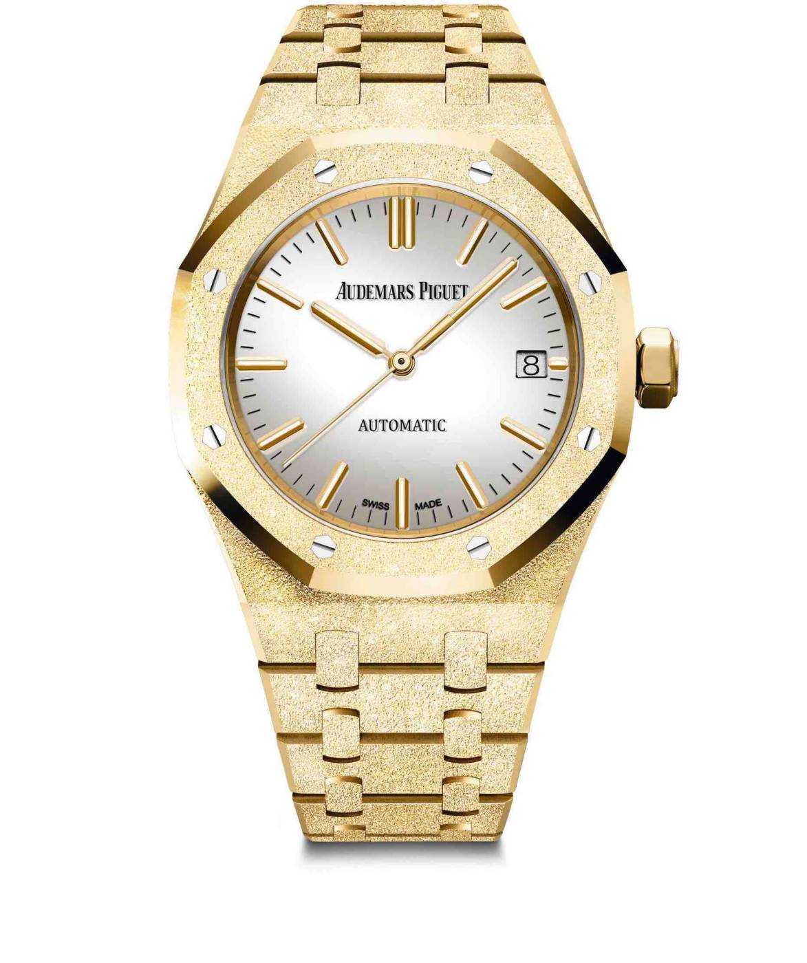 Carolina Bucci Royal Oak Frosted Gold de Audemars Piguet