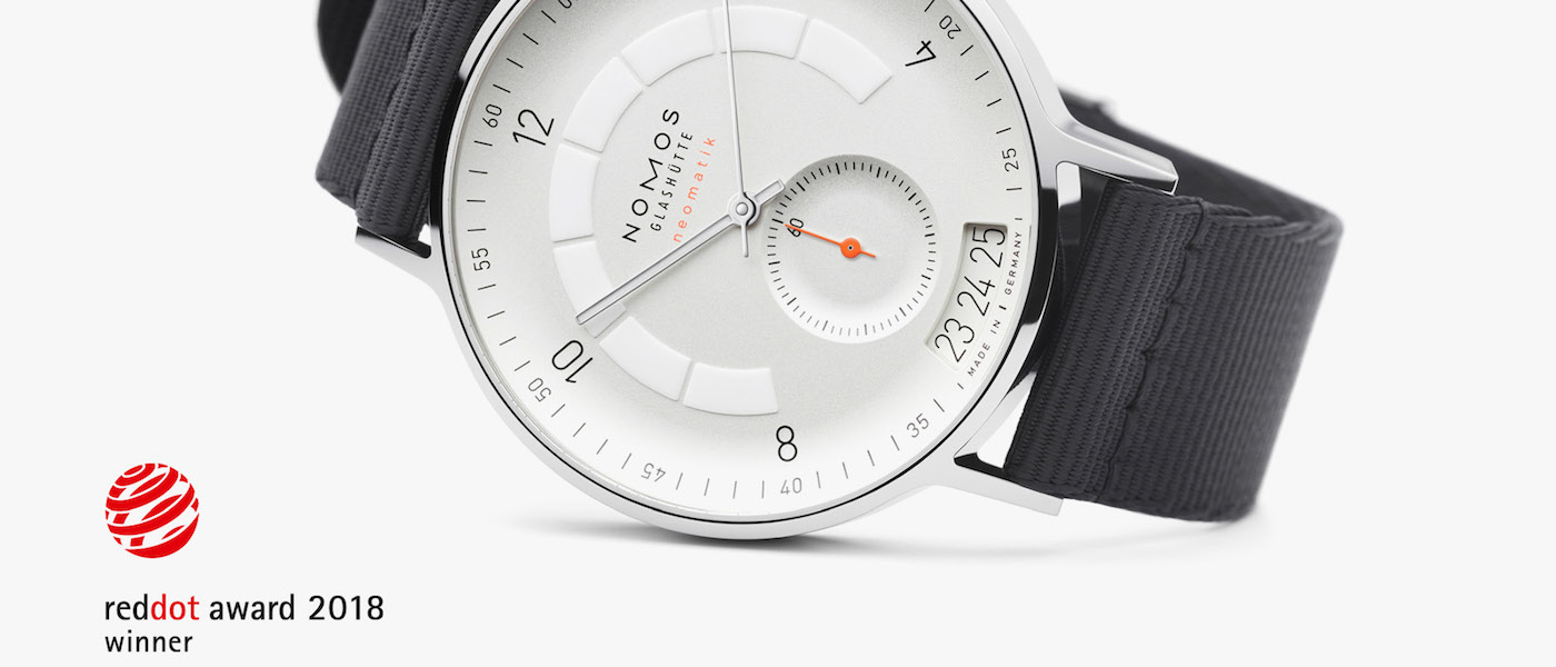 NOMOS y HYT ganan los Red Dot Design Awards