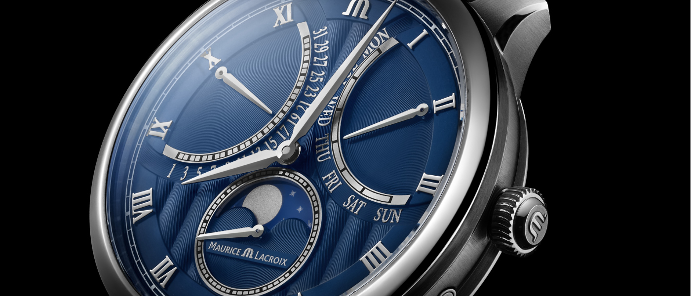 Maurice Lacroix Masterpiece Moonphase Retrograde