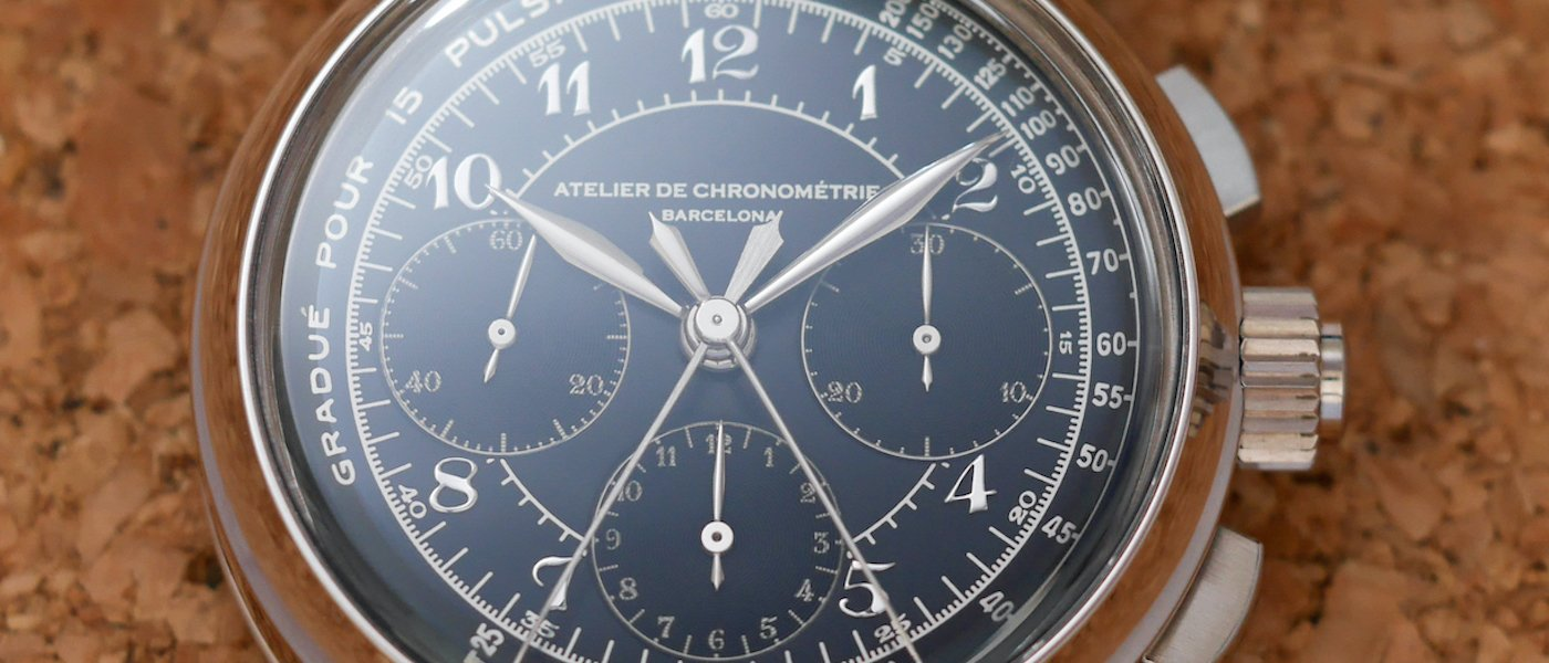 Atelier de Chronométrie #8 Split-seconds chronograph