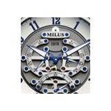MILUS TIRION TriRetrograde Seconds Skeleton 1919