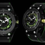 SpidoLite II Tech Green de Linde Werdelin