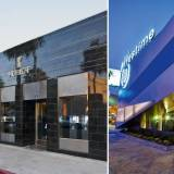 Left: Hublot Boutique, Los Angeles - Left: Westime, Los Angeles