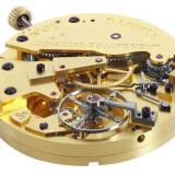 El movimiento con escape co-axial en el George Daniels Anniversary Watch