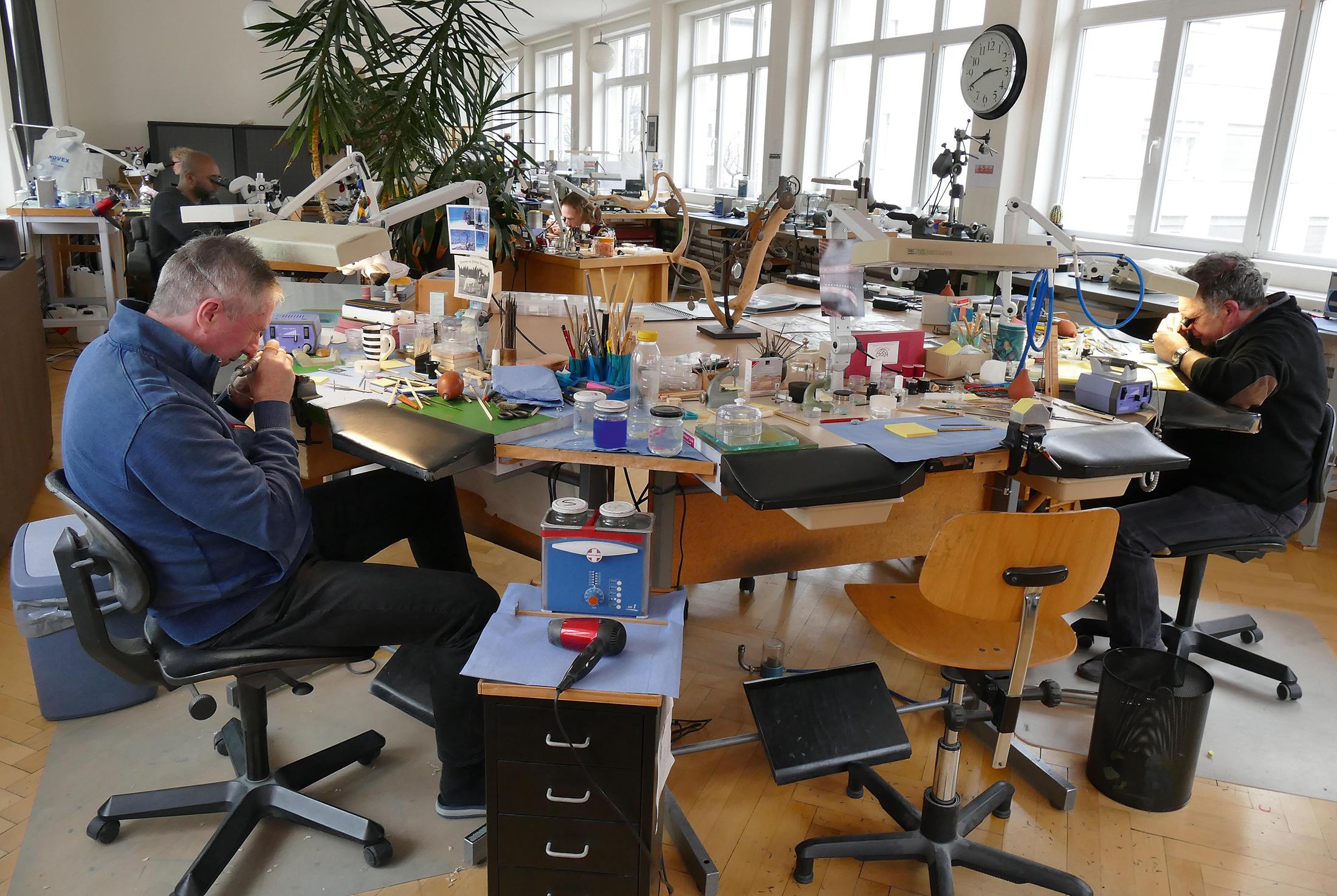Atelier Arrigoni-Laufer, La Chaux-de-Fonds