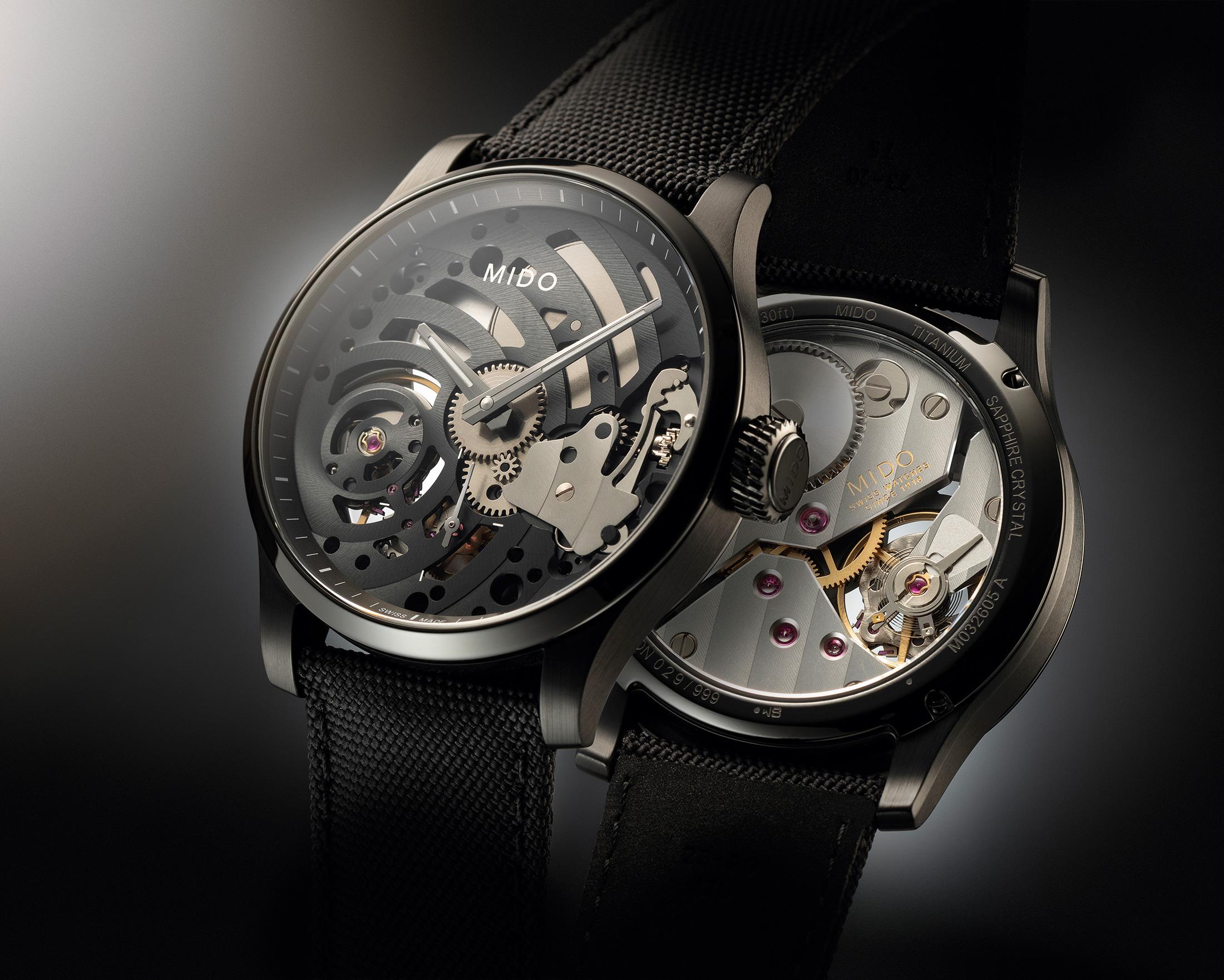 Mido Multifort Mechanical Skeleton Limited Edition 2 - Europa Star watch magazine 2020