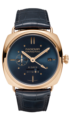 RADIOMIR 8 DAYS GMT ORO ROSSO