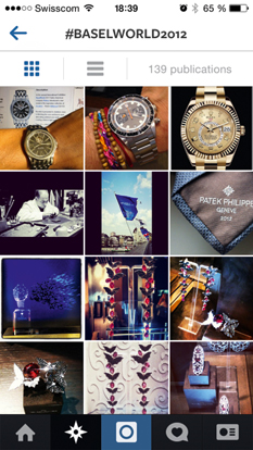 WORLDWATCHWEB – REDES SOCIALES - Relojes en Baselworld