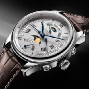 THE MASTER COLLECTION RETROGRADE MOON PHASES de Longines