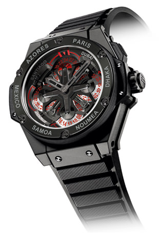 KING POWER UNICO GMT de Hublot