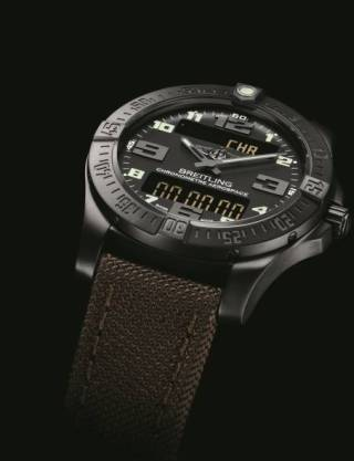 Breitling Aerospace Evo Night Mission esfera negra