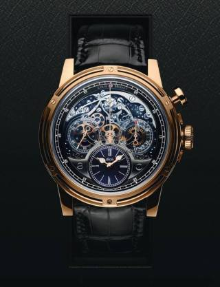 "FIRST CHRONOGRAPH EVER"" de Louis Moinet"