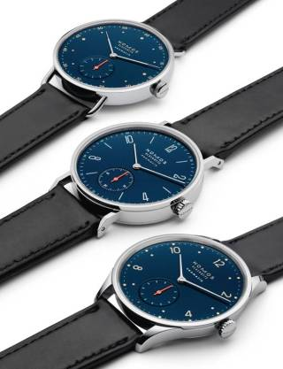 NEOMATIK COLLECTION MIDNIGHT BLUE de Nomos Glashütte