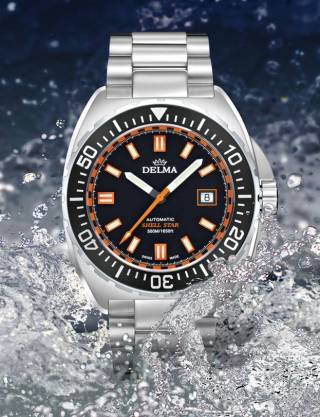 SHELL STAR AUTOMATIC de Delma