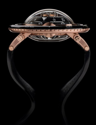 HM7 AQUAPOD – RED GOLD LIMITED EDITION de MB&F