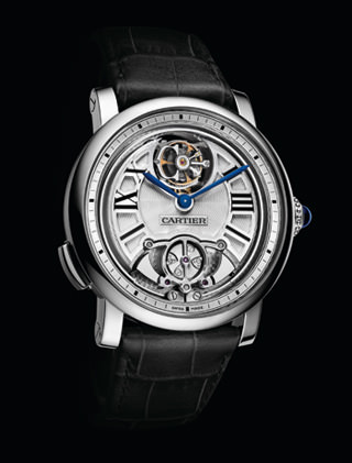 ROTONDE MINUTE REPEATER WITH FLYING TOURBILLON de Cartier