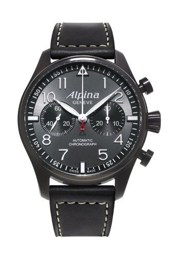 Startimer Black Star Chronograph de Alpina