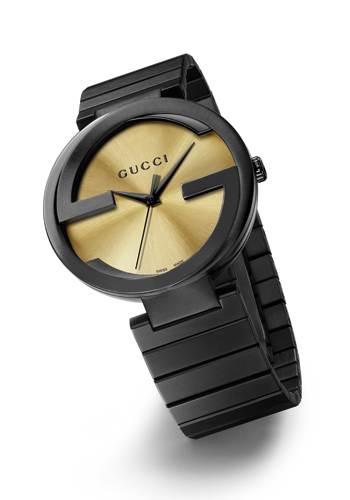 El Gucci Grammy® Interlocking Watch con esfera de Grammium