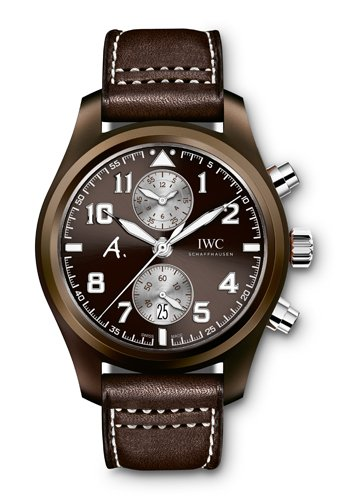 "Pilot's Watch Chronograph Edition ""The Last Flight"" de IWC (Ref. IW388005) (Frontal)"