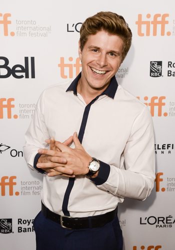 Alexandre Landry en el Toronto International Film Festival