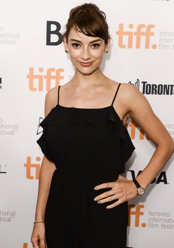 Sophie Desmarais en el Toronto International Film Festival