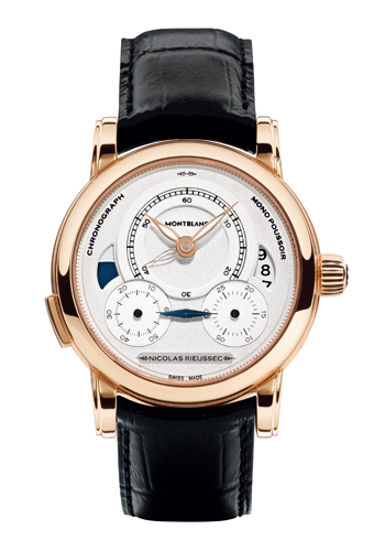 «Nicolas Rieussec» chronograph by Montblanc
