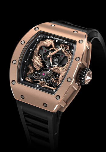 RM 57-01 Phoenix and Dragon - Jackie Chan de Richard Mille (Frontal)