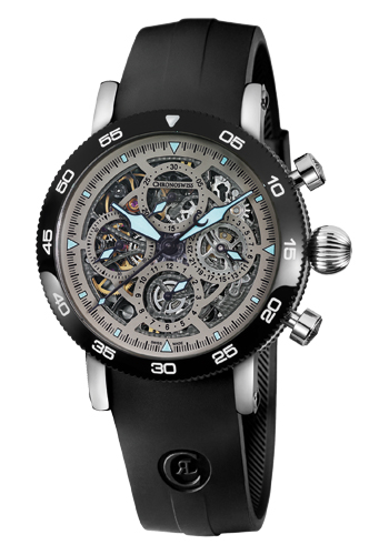 Time Chronograph Skeleton de Chronoswiss