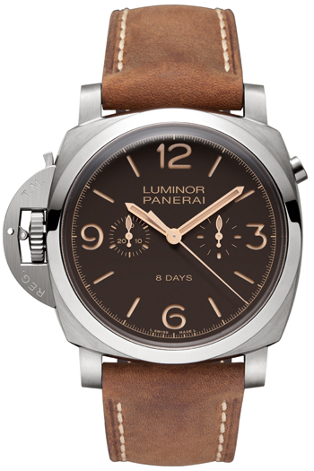 Luminor 1950 Chrono Monopulsante Left-Handed 8 Days de Officine Panerai