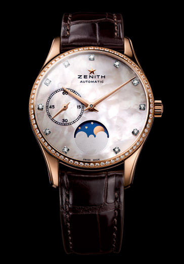 HERITAGE ULTRA THIN LADY MOONPHASE de Zenith
