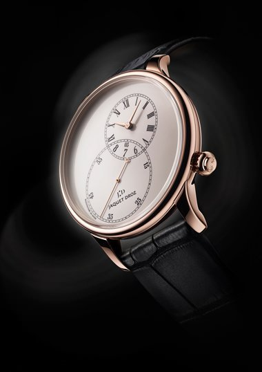 GRANDE SECONDE OFF-CENTERED ENAMEL de Jaquet Droz
