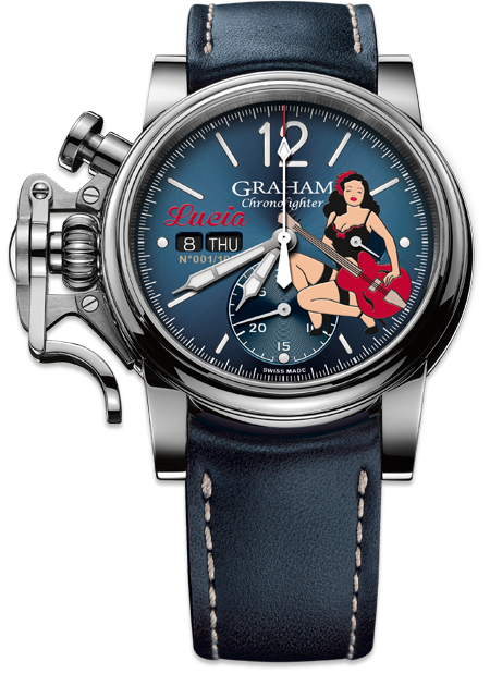Chronofighter Vintage NOSE ART LTD de Graham