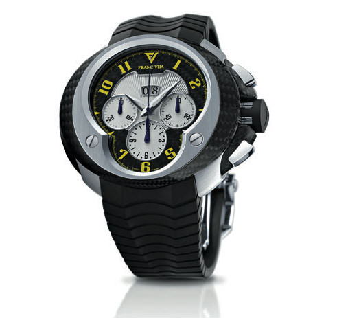 Franc VilaCobra Chronographe Yellow Edition